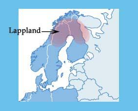 Lappland Karte.Vergessene Samen Der Sprache Language Trainers Deutschland Blog