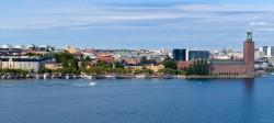 View from Skinnarviksberget, Sdermalm, Stockholm, Sweden.