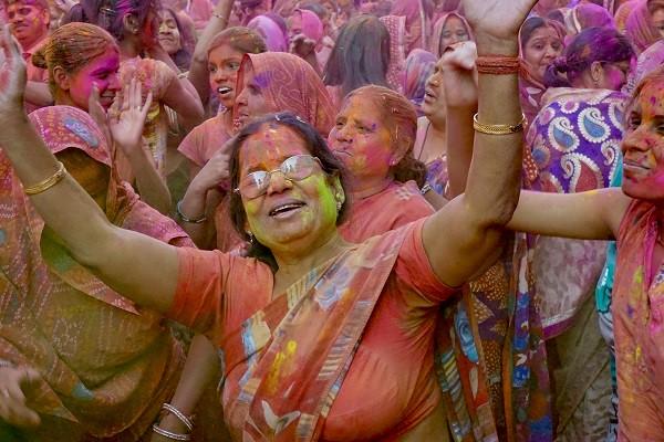 Tanzfest in Indien